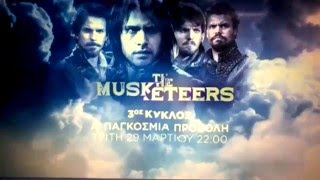 The Musketeers Season 3 trailer/promo