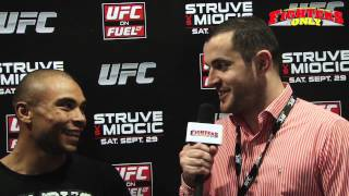 UFC on Fuel TV 5: Robbie Peralta Post Fight Interview