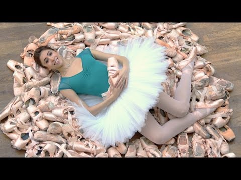 Competition: How many pointe shoes do The Royal Ballet use i