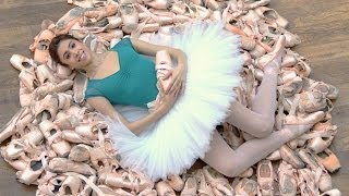 Competition: How many pointe shoes do The Royal Ballet use in a week? (#PointesWinPrizes)