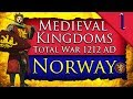 RAGNAR'S DREAM! Medieval Kingdoms Total War 1212 AD: Norway Campaign Gameplay #1