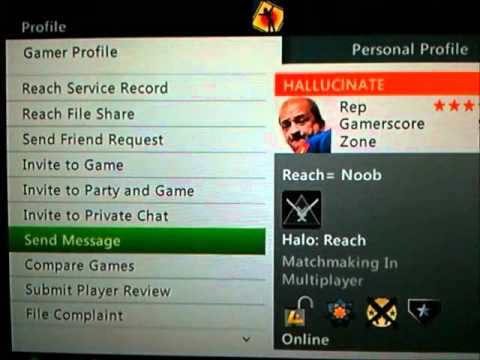 Guy on XBOX LIVE threatens to hack me