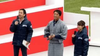 16/11/23 神宮球場 スワローズのど自慢歌合戦 西浦.