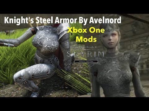Knight's Steel Armor By Avelnord Skyrim SE Xbox One Mods