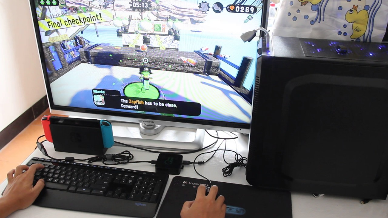 Splatoon 2: playing with mouse and keyboard? It's possible