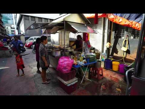 Malaysia, Johor Bahru, walking around Pasar Malam / Food Market