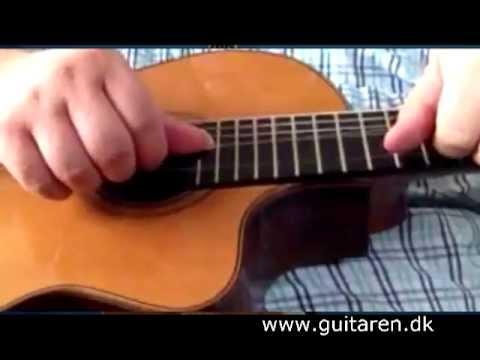 stemning af guitar