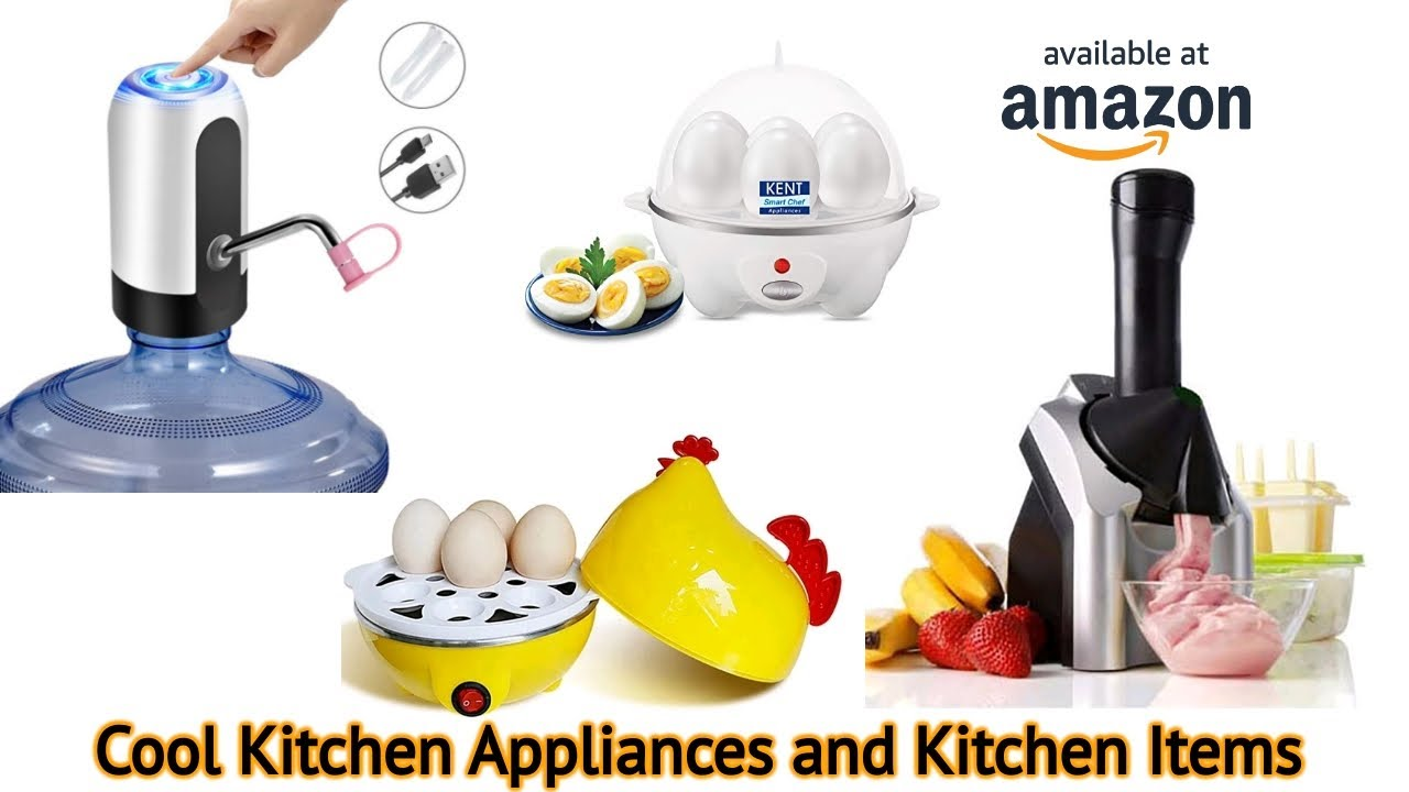 Cool Kitchen Appliances And Items To Speed Up Your Cooking 2021 Youtube