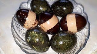 Как покрасить ЯЙЦА НА ПАСХУ натуральными ингредиентами? Оригинальный способ покраски яиц