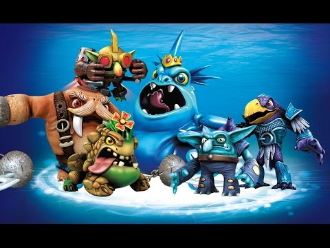 Battles and Capture Sequences of the Water Villains in ...