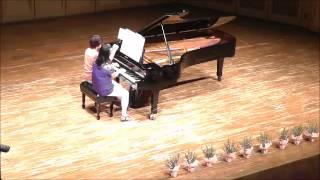 2015年7月27日に行われた、ピアノ連弾サークル「音茶会」第4回コンサー...