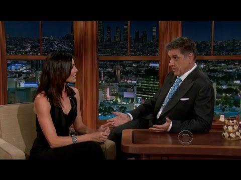 Late Late Show with Craig Ferguson 11/27/2012 James Marsden, Daniela Ruah, Cory Kahaney