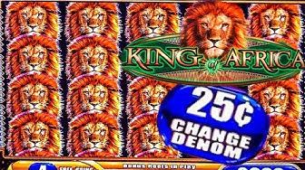 KING OF AFRICA SLOT/ JACKPOT/ HIGH LIMIT/ FREE GAMES