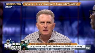 UNDISPUTED | Michael and Shannon DEBATE - Who wins the NFC East: 5-4 Cowboys or 5-4 Eagles?