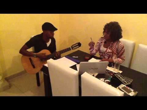 DenaMwana - Nzambe Monene rehearsal (Awesome cover)