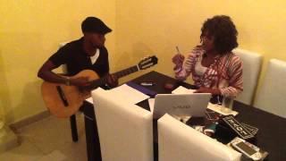 DenaMwana - Nzambe Monene rehearsal (Awesome cover)