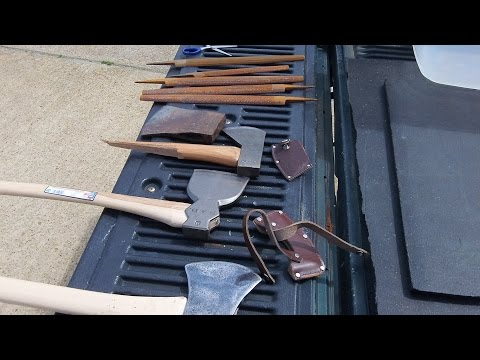 Sharpening Axes and Knives in Hampton Roads Virginia
