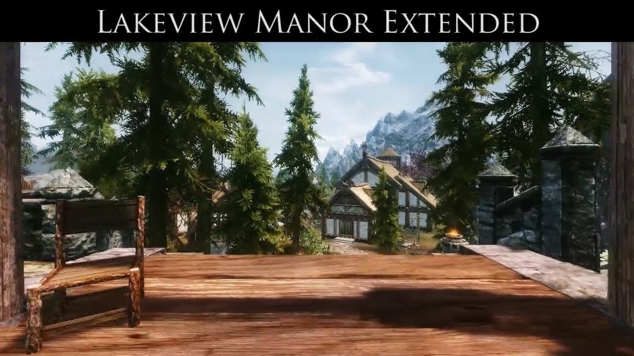 Lakeview Extended   Hearthfire   Skyrim Mod   YouTube. Hearthfire Lighting Fix. Home Design Ideas