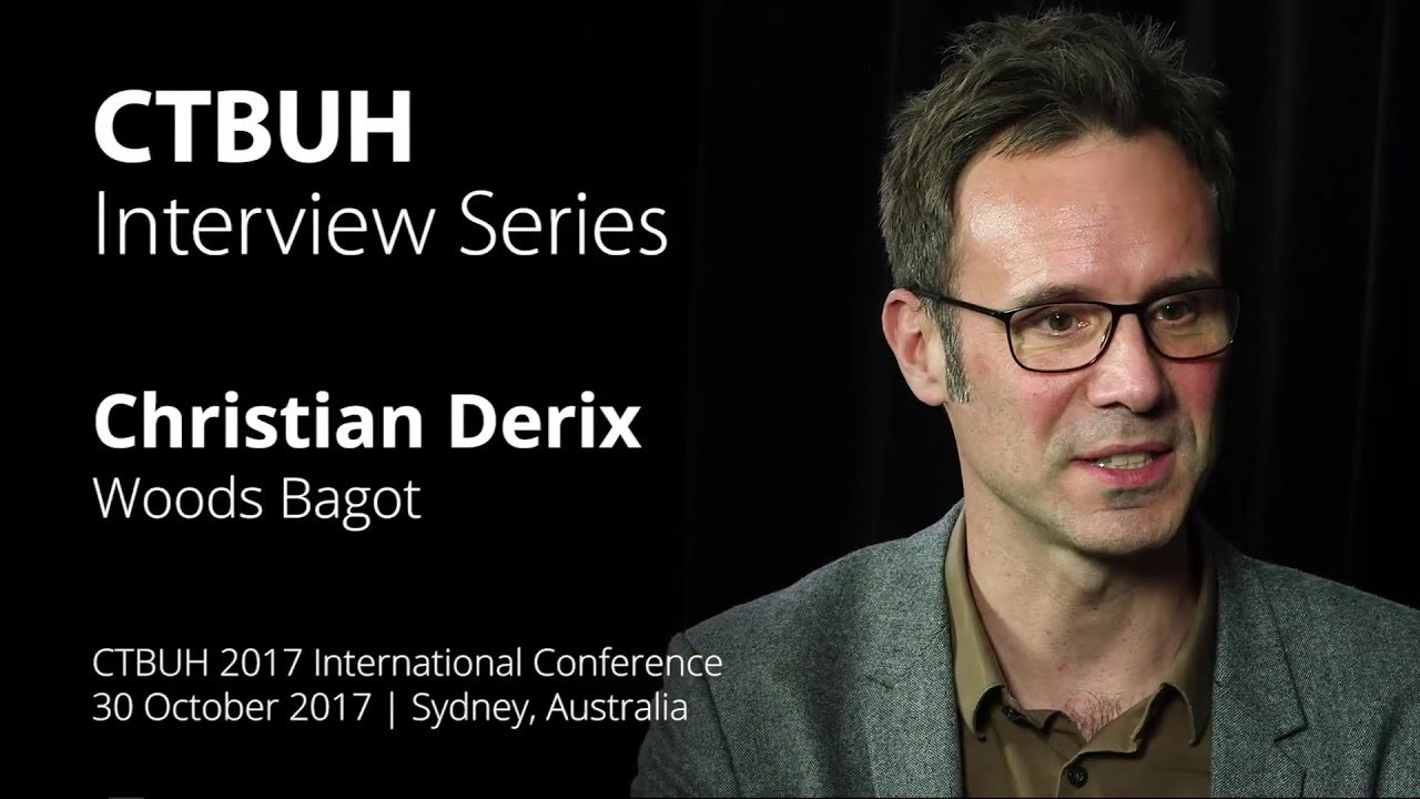 Ctbuh Video Interview Christian Derix Youtube