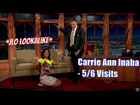 Carrie Ann Inaba - Does The Hula Dance For Craig - 5/6 Visits In Chronological Order [240-1080p]