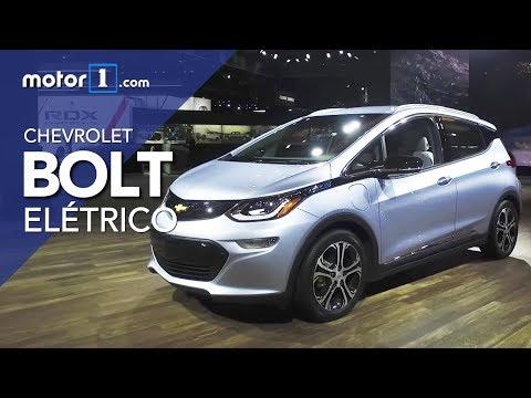 Bolt, o carro 100% elétrico da Chevrolet que será vendido no Brasil