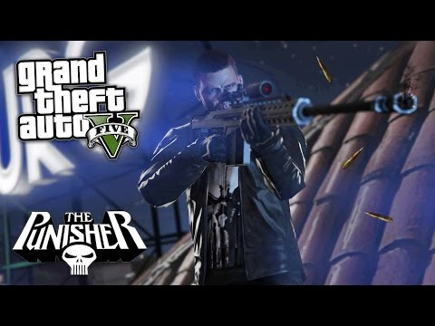GTA 5 Mods - ULTIMATE PUNISHER MOD!! GTA 5 Punisher Mod Gameplay! (GTA 5 Mods Gameplay)