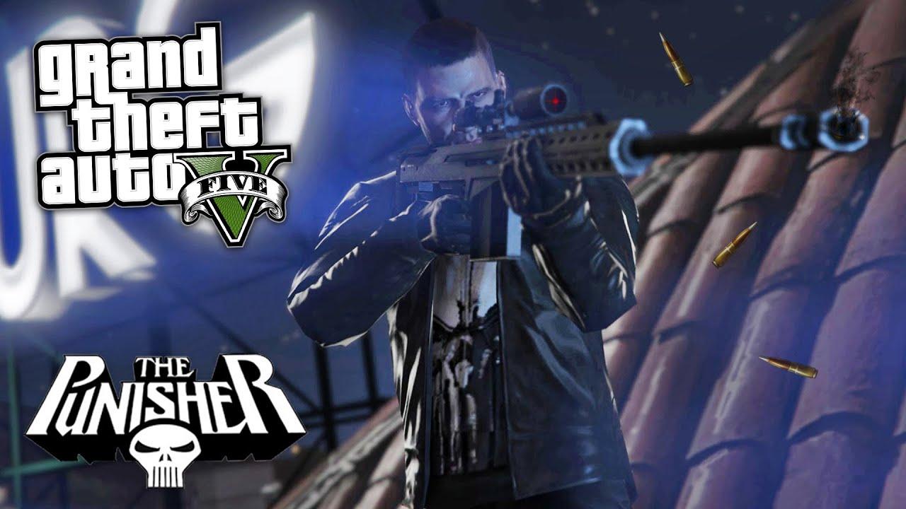 GTA 5 Mods - ULTIMATE PUNISHER MOD!! GTA 5 Punisher Mod Gameplay! (GTA 5  Mods Gameplay)