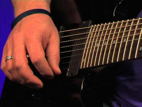 Ibanez RG2228 Prestige Video Review Demo Guitarist Magazine