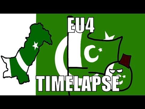 EU4 Timelapse Uniting India as Pakistan - Most Popular Videos