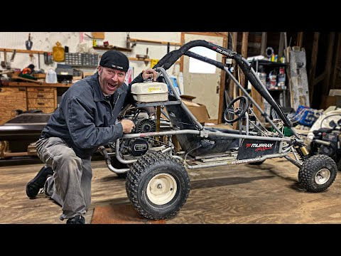 440cc 2 Stroke Go Kart Build | 38HP Murray Kilowatt!