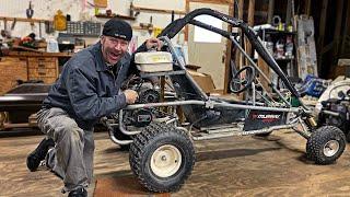 Download 440cc 2 Stroke Go Kart Build | 38HP Murray Kilowatt! Mp3 and Videos