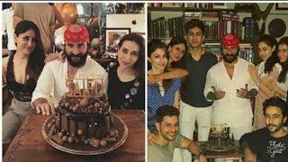 Saif Ali Khan Grand Birthday celebration | kareena kapoor