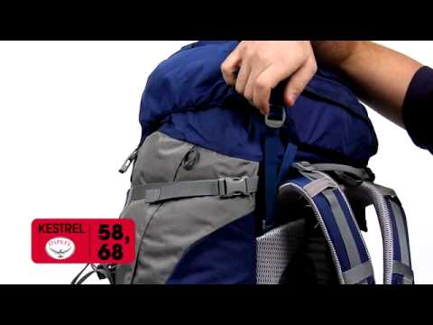 1ce08e904d7 Osprey Packs | Kestrel 58 and 68 2012 Redesign | Product Tour - YouTube