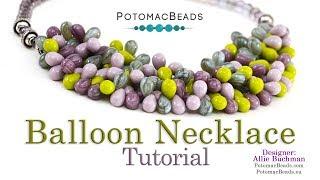 Balloon Necklace - Basic Beading Tutorial