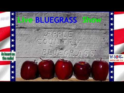 Apple Country String Band  Bluegrass Radio Show 1970's on WIOF FM CT, with Billy Hamilton