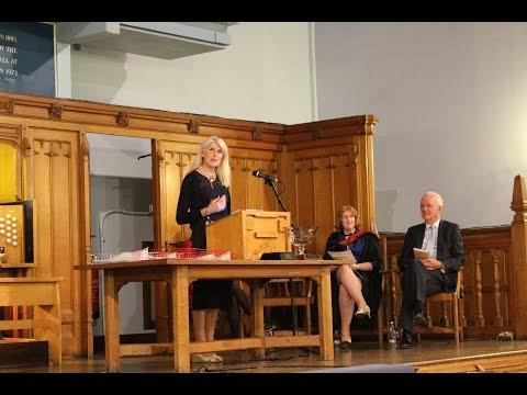 Selina Scott's Address to Bolton School Girls on Presentation Evening