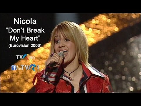 Nicola - Don't Break My Heart (Eurovision Song Contest 2003)