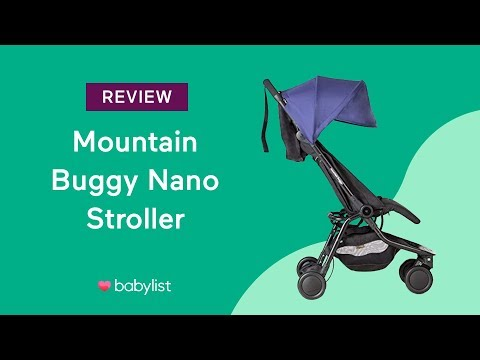 Mountain Buggy Nano Stroller Review Babylist