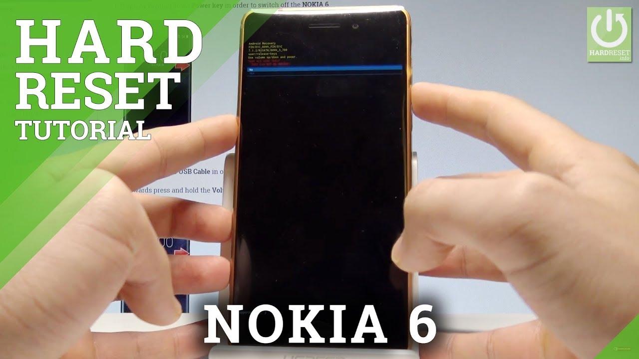 Hard Reset NOKIA 6 TA-1021 - HardReset info