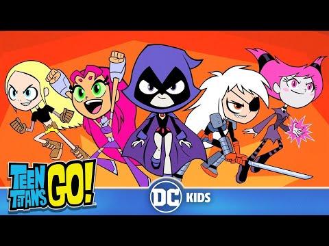 Teen Titans Go em Português   Noite de Todas as Garotas  DC Kids