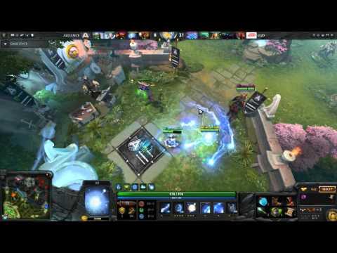 Alliance EGM IO Relocate TP Save - Dota 2