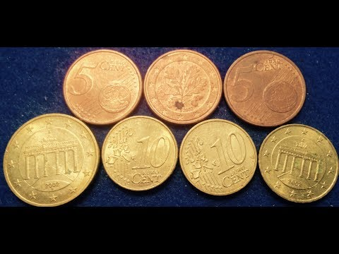 German Euro Cent Coins- Billions Made in 2002