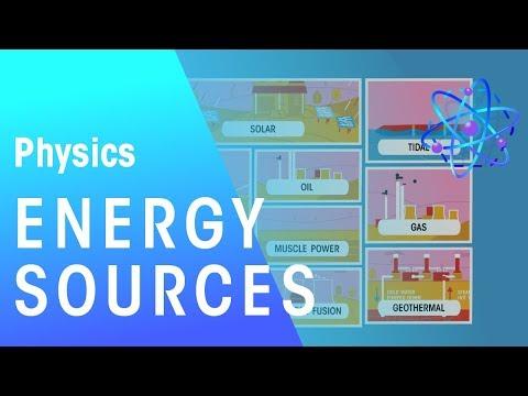 Energy Sources  | Energy | Physics  | FuseSchool
