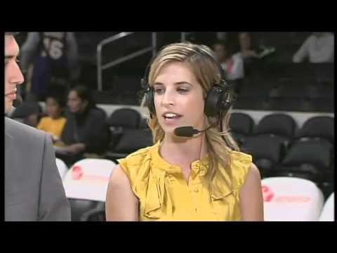 2010-11 Chick Hearn Scholarship Winners Lakers Live Pregame Interview