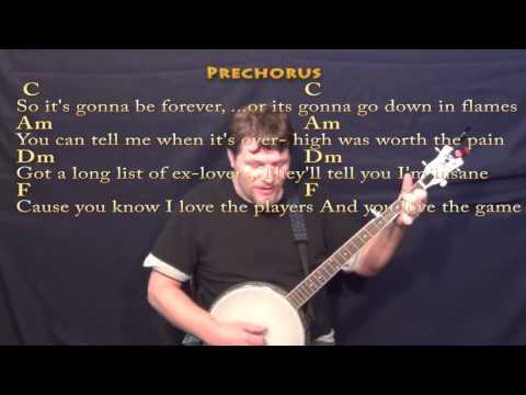 Banjo banjo chords mean taylor swift : Blank Space (Taylor Swift) Banjo Cover Lesson with Chords/Lyrics ...