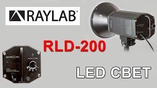 Обзор RayLab Xenos RLD-200 UU CooLED 200 Light Kit LED-200 RLD-99 - комплект студийного света