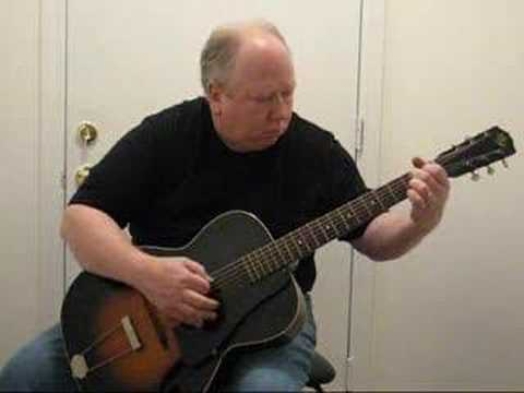 Demonstration of 1930's May Bell Style 84 Guitar