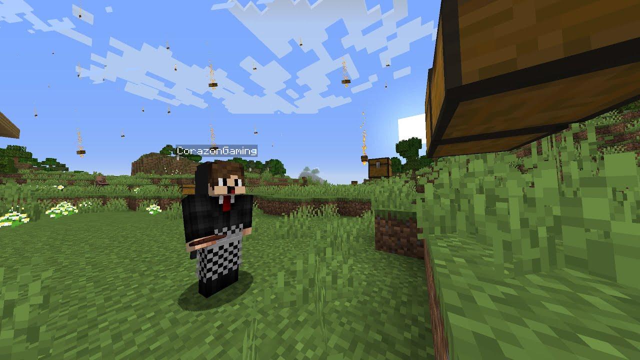 Aku Tamatin Minecraft Tapi HUJAN CHEST