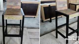 Wood Bar Stools Code : Ch-146