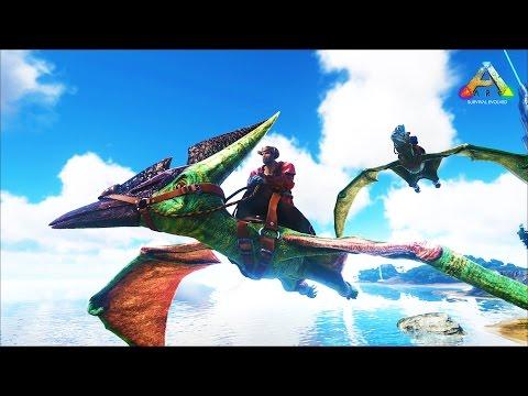 HikePlays ARK Survival - FLYING & EXPLORING The VOLCANO - DINO Hunter! EP.15 w/ Stream Team!